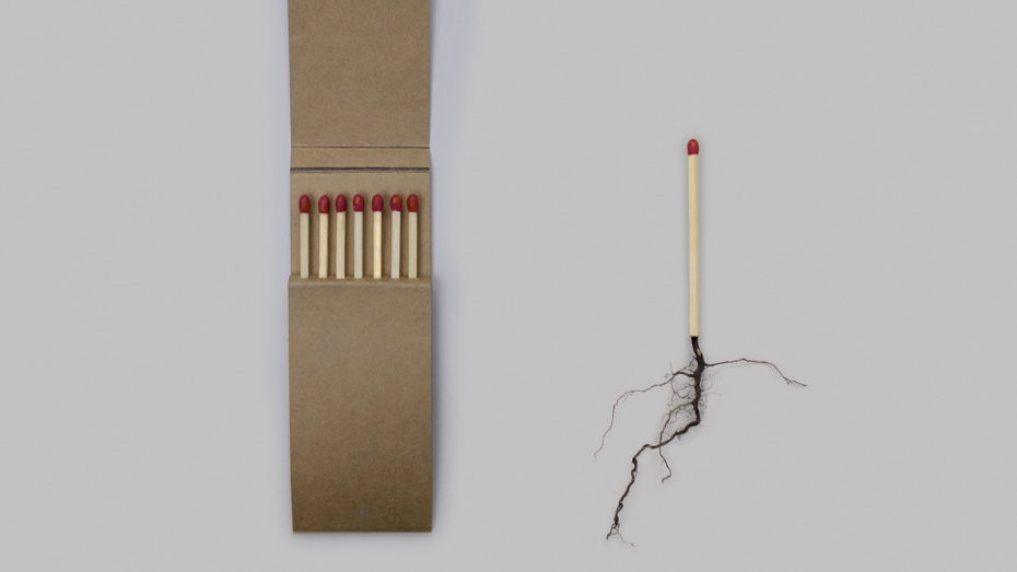 Student work: Matches, by Tony Lee, Ariel Mather, Simon Moore, Christopher Randell and Thomas Ricciardiello